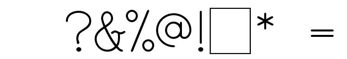 Maternellecolor cursive case Font OTHER CHARS
