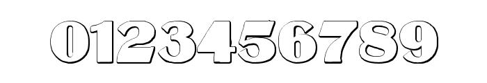 MateusBold Beveled Font OTHER CHARS