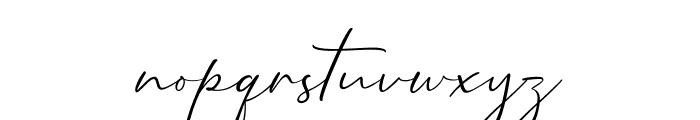 Mathanifo Script Regular Font LOWERCASE