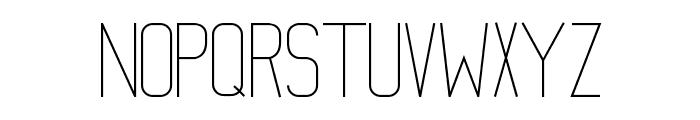 Mathematical Font UPPERCASE