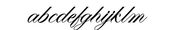 Mathilda in Wonderland Font LOWERCASE