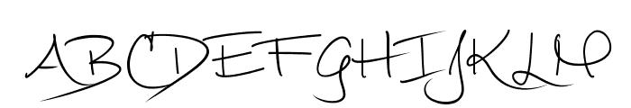 Mathilde ttf Font UPPERCASE