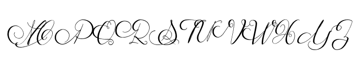 MathildeCastleland Font UPPERCASE
