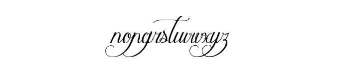 MathildeCastleland Font LOWERCASE