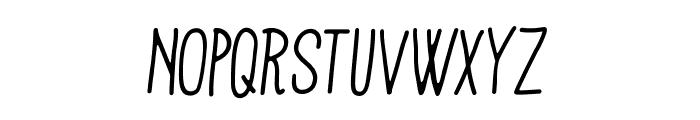 Mathlete-BulkySlant Font UPPERCASE