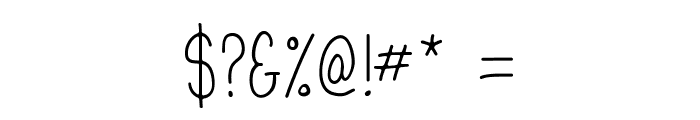 Mathlete-Skinny Font OTHER CHARS