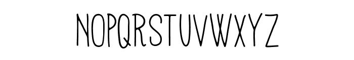 Mathlete-Skinny Font UPPERCASE