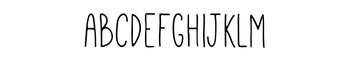 Mathlete-Skinny Font LOWERCASE