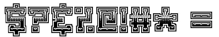 Matilda The Iron Lady Regular Font OTHER CHARS