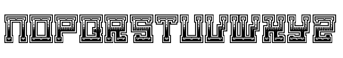 Matilda The Iron Lady Regular Font UPPERCASE