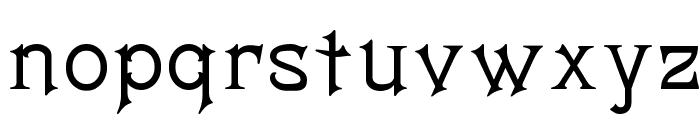 Matilda Font LOWERCASE
