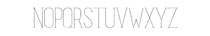 MatildeSketch Font UPPERCASE