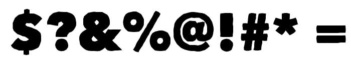Matiz Font OTHER CHARS