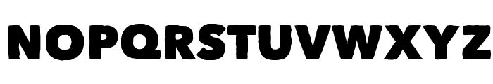 Matiz Font UPPERCASE