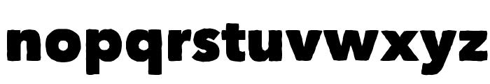 Matiz Font LOWERCASE