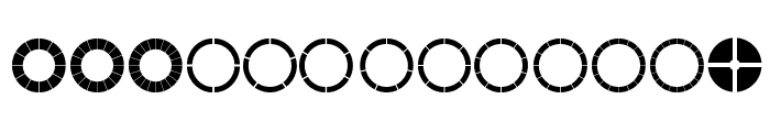 Matonomannaka Font UPPERCASE