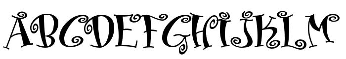 Matreshka Font UPPERCASE
