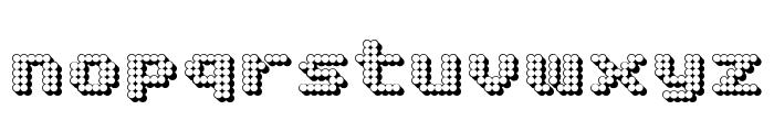 Matrix Complex 3D NC Font LOWERCASE