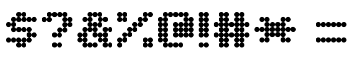 Matrix Complex NC Font OTHER CHARS