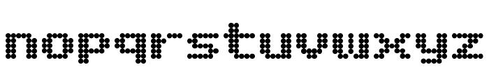 Matrix Complex NC Font LOWERCASE