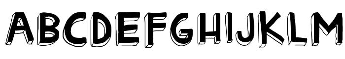 Matryoshka Font UPPERCASE