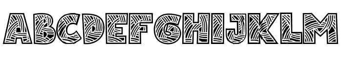 Matsuri Regular Font UPPERCASE