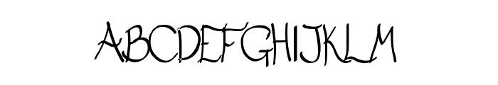 Matt Serif Font UPPERCASE