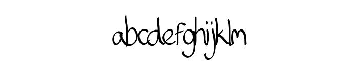 Matt Serif Font LOWERCASE