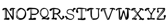 Mattfont  Oblique Font UPPERCASE
