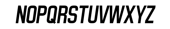 Matthan Sans Italic Font UPPERCASE