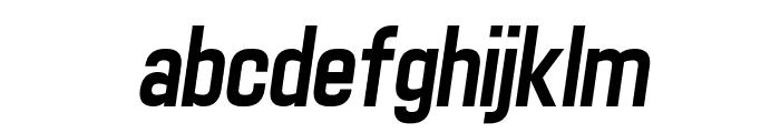 Matthan Sans Italic Font LOWERCASE