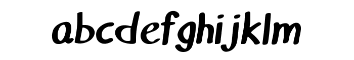 Matthiola Bold Font LOWERCASE