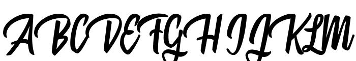 Mattisse Personal Use Regular Font UPPERCASE