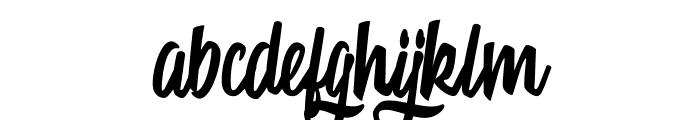 Mattisse Personal Use Regular Font LOWERCASE