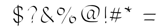 MattressesFont Font OTHER CHARS