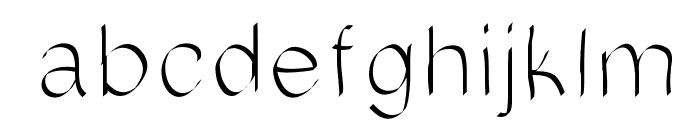 MattressesFont Font LOWERCASE