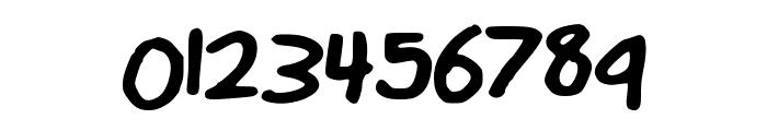MattsHandwriting Font OTHER CHARS