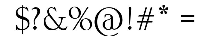 Matty Font OTHER CHARS