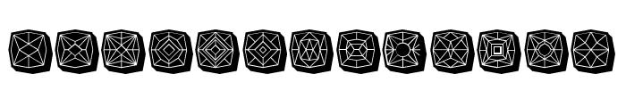 Maumbo Regular Font LOWERCASE