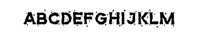 Maunispark Font UPPERCASE