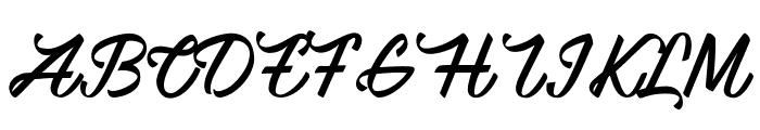 Mauritian Vibration Font UPPERCASE