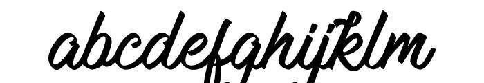 Mauritian Vibration Font LOWERCASE