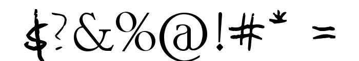 Mauro Grossi Font OTHER CHARS