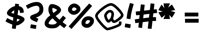 Mauryssel Font OTHER CHARS