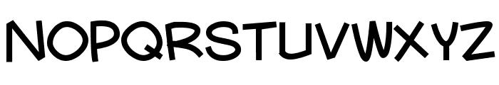 Mauryssel Font UPPERCASE