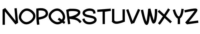 Mauryssel Font LOWERCASE