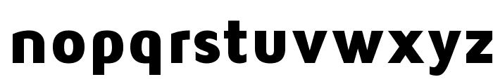 Maven Pro Black Font LOWERCASE