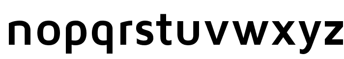 Maven Pro Bold Font LOWERCASE