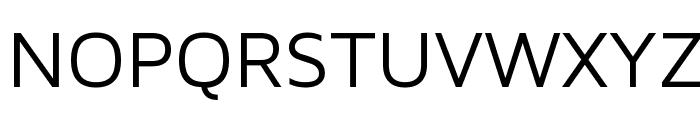 Maven Pro Regular Font UPPERCASE