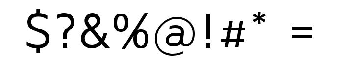 Maven Pro VF Beta Regular Font OTHER CHARS